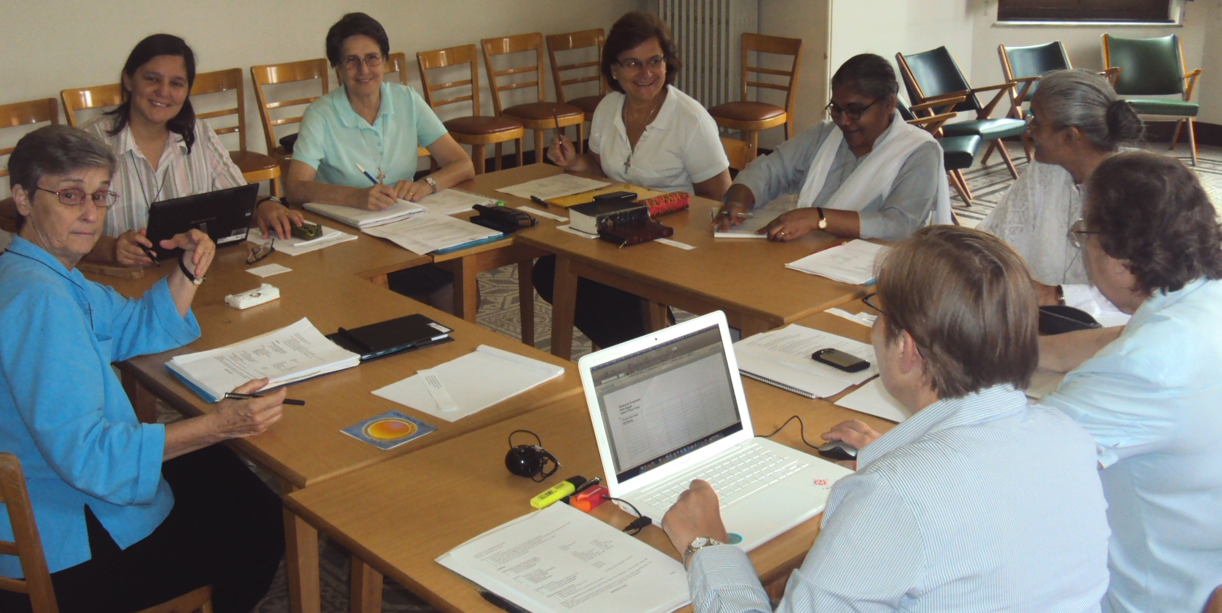 Preparation for the International Formators' Meeting