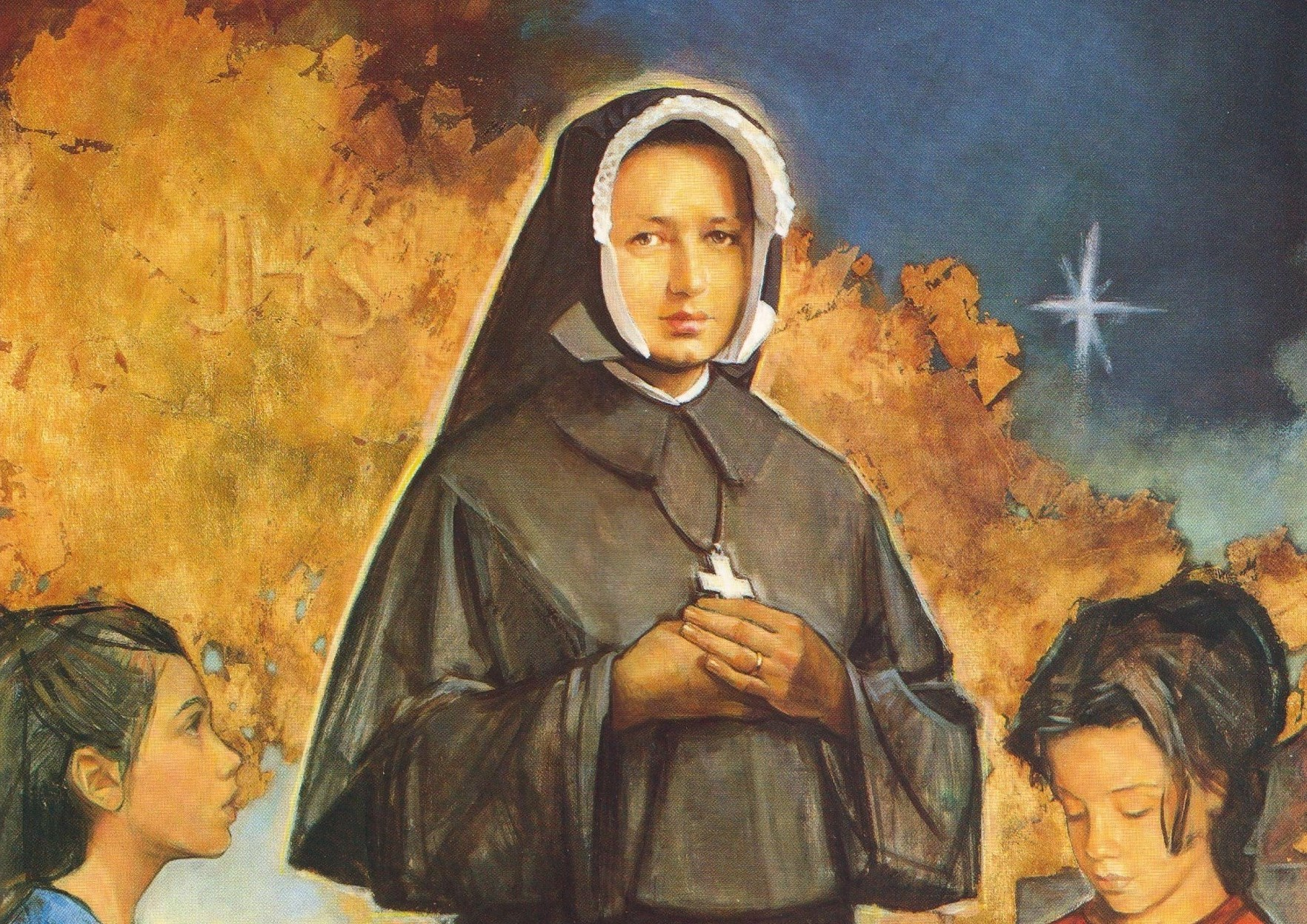 Today Dina Bélanger's feast day!
