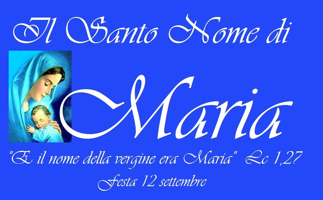 Il Santo Nome di Maria