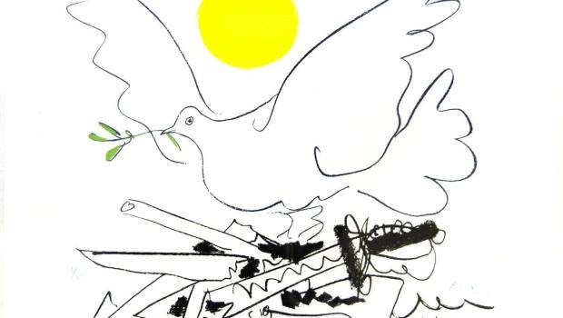 Picasso Paloma de la paz