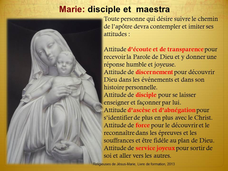 Marie disciple