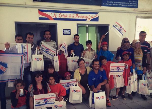 Familias Sirias en Uruguay