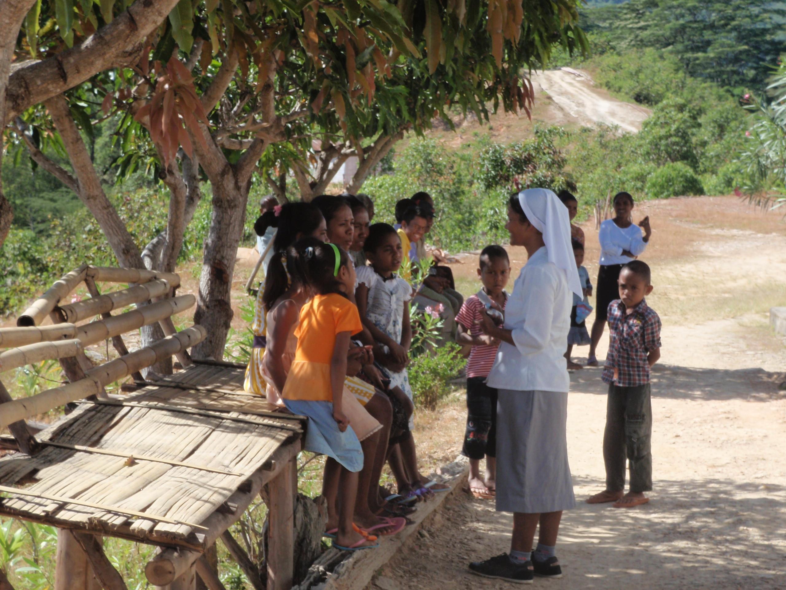 Visita a Timor Est