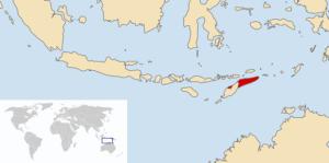 Ubicación Timor Leste