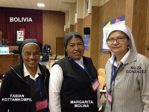 RJM que participan en la CONFERENCIA GENERAL, Roma del 1 al 15 de octubre de 2015
