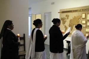 procesión de la luz