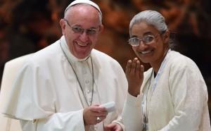 Monica y el Papa