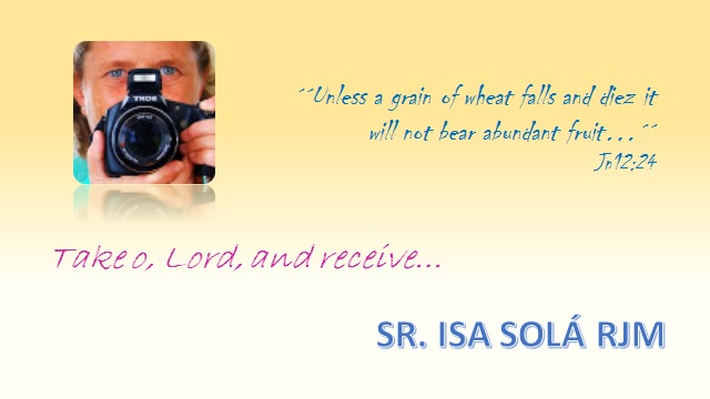 Sr. Isa Sola rjm – a dedicated Religious of Jesus and Mary