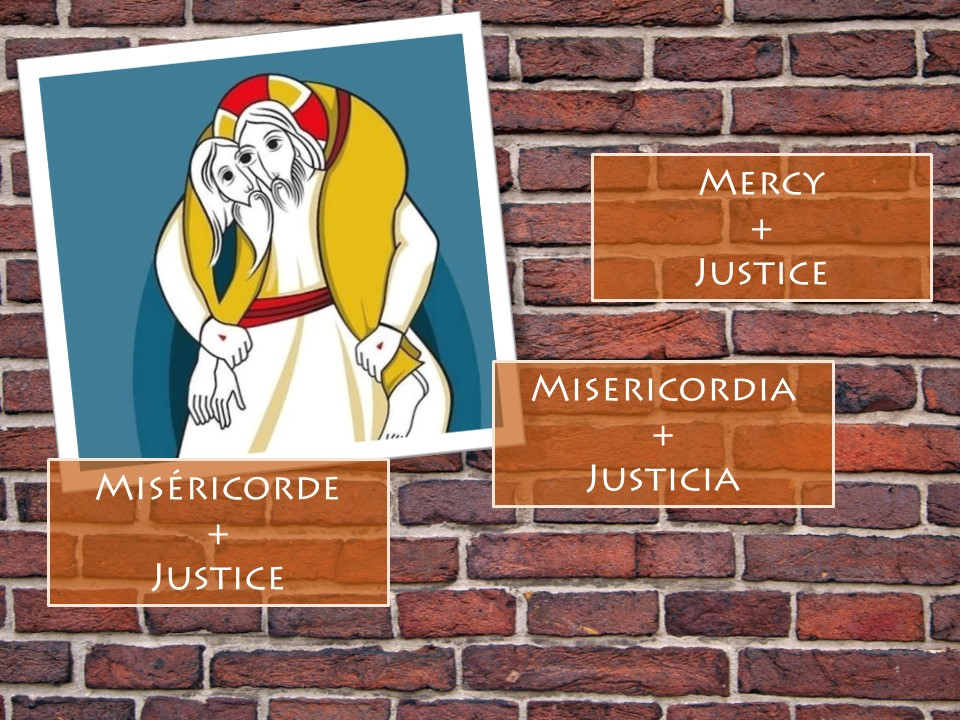 "What ""justice+ mercy"" mean for you?"