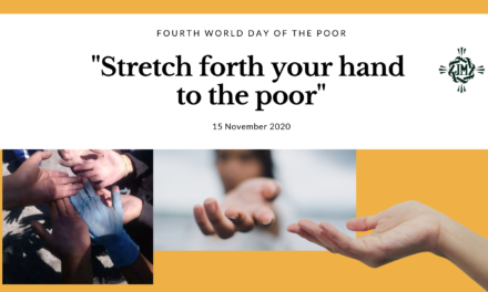Stretch forth your hand to the poor