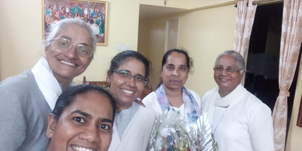 Visita canónica a la Viceprovincia de Kolkata